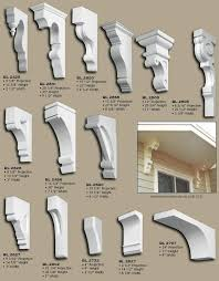 Fluted Fillers, Posts and Corbels